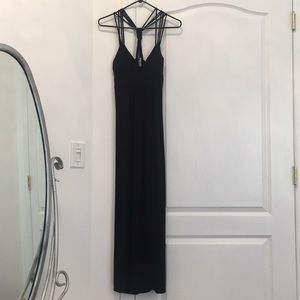 Charlotte Russe Strappy Maxi Dress